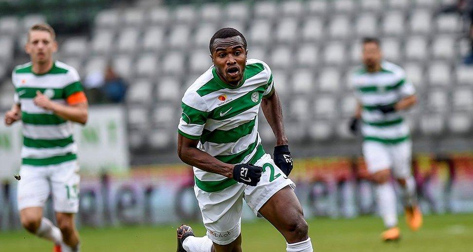 Christian Moses scores brace for new club Viborg
