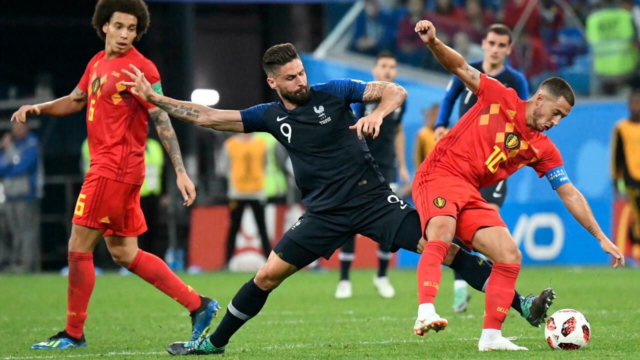 Βέλγιο – Γαλλία για μια θέση στον τελικό του Nations League